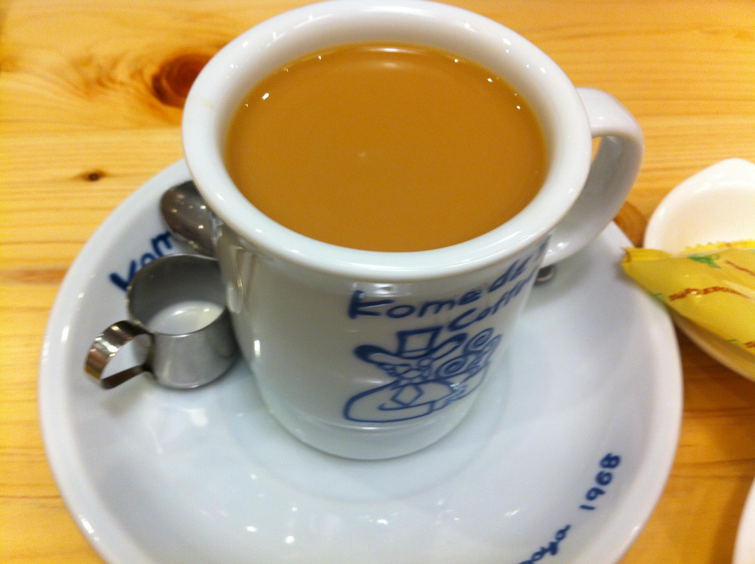 まだ東京に13店舗しかないコメダ珈琲店に行ってみた