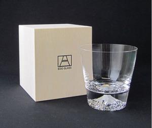 富士山グラス ロックグラス